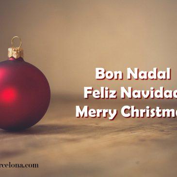 Proline Barcelona os desea Feliz Navidad
