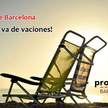 Vacaciones Proline Barcelona