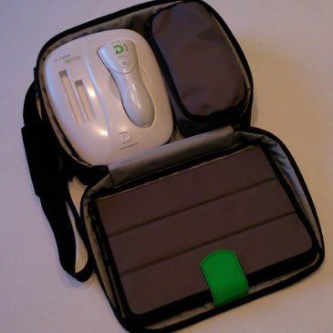 Bolsa transporte analizador de piel DPLITE 2