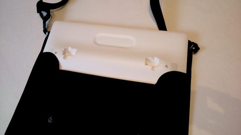 Shoulder bag with support for Tablet
